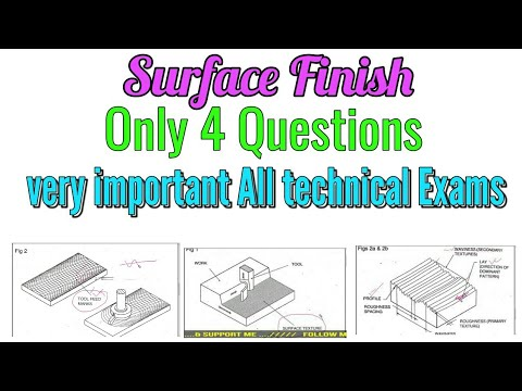 Surface Finish most important Questions for OFRC,DRDO,BHEL,HAL,IOCL, & All technical exams