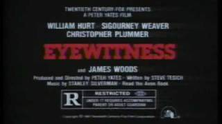 Eyewitness 1981 TV trailer
