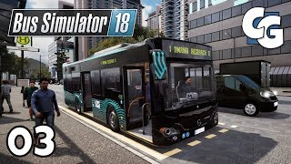 Bus Simulator 18 - Ep. 3 - Short & Sweet Drive - No Commentary Gameplay
