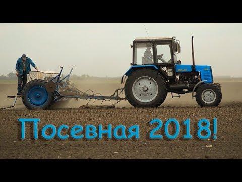 Посевная 2018! Пшеница! МТЗ-892  сз 5.4