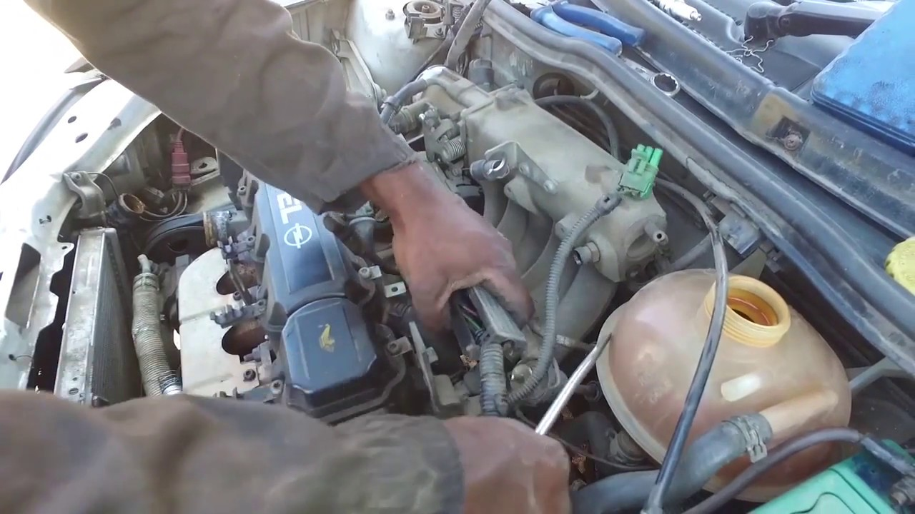 OPEL CORSA ( 2003 ) - INJECTOR WIRING REMOVAL on