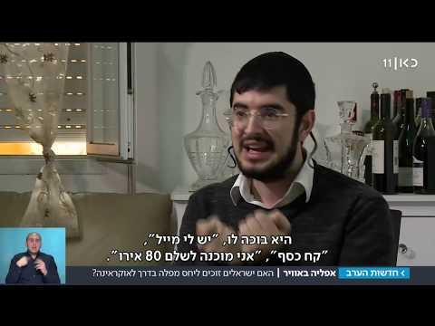 'אנטישמיות, אין מילה אחרת': האם מפלים ישראלים בטיסות לקייב?