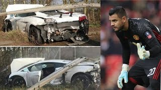 SERGIO ROMERO ARGENTINA GOALKEEPER MIRACULOUSLY SURVIVED A CAR ACCIDENT WITH HIS LAMBORGHINI