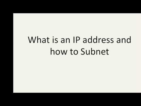 TCP/IP Subnet Masking made easy