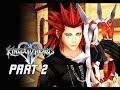 Kingdom Hearts 2.5 Final Mix Walkthrough Part 2 - AXEL (Kingdom Hearts 2 PS4)