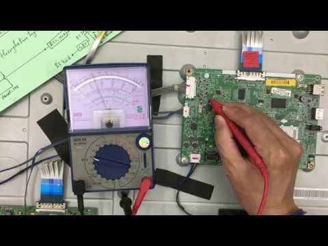 Hướng dẫn sửa chữa Bo tín hiệu Tivi LCD - Hỏng nguồn xung tạo áp 1,15V