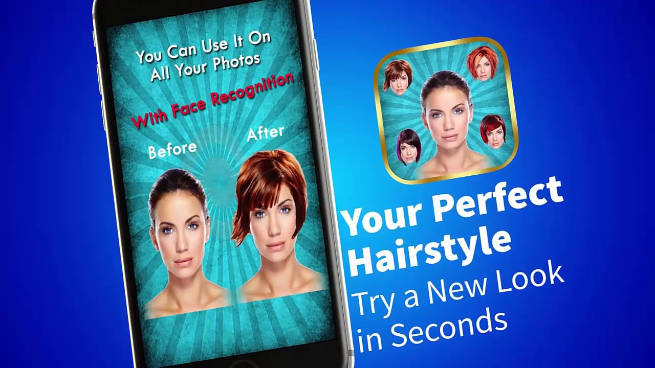 Your Perfect Hairstyle For Women Android App Youtube
