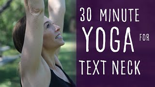 30 Minute Vinyasa Yoga for Pain Relief in Neck and Shoulders From