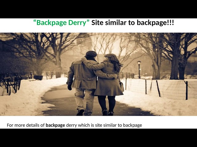Backpage Derry Site Similar To Backpage Alternative To Backpage Sites Like Backpage Wattpad