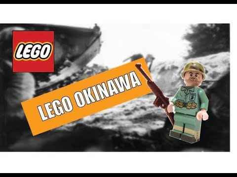 LEGO World War 2 Okinawa MOC || WW2 Pacific Theater