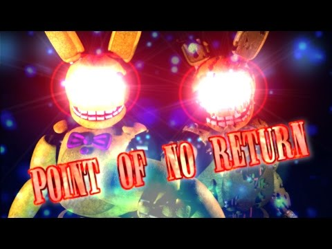 60fps[C4D/FNAF] Springtrap Return - Point Of No Return / FNAF ANIMATION