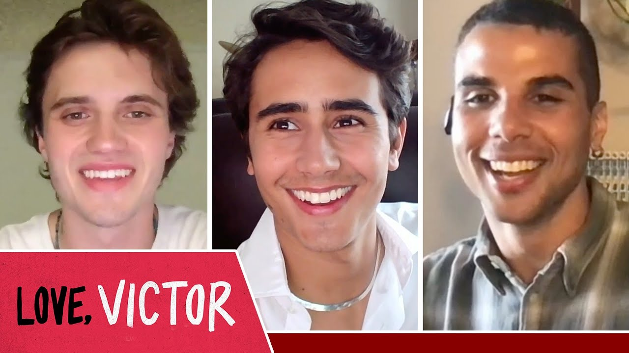 """The """"Love, Victor"""" Cast Plays Who's Who"""