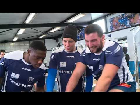 Rugby : visite au Centre de formation du Castres Olympique