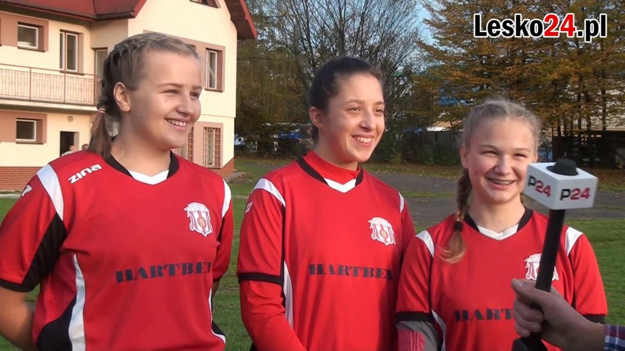 W Lesku działa kobieca sekcja piłki nożnej