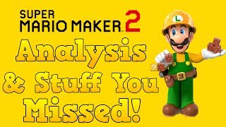 Super Mario Maker 2 Trailer - Analysis & Stuff You Missed!