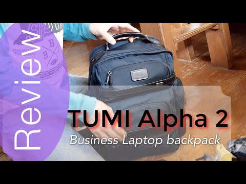 Tumi Alpha 2 T-Pass Business Laptop backpack review