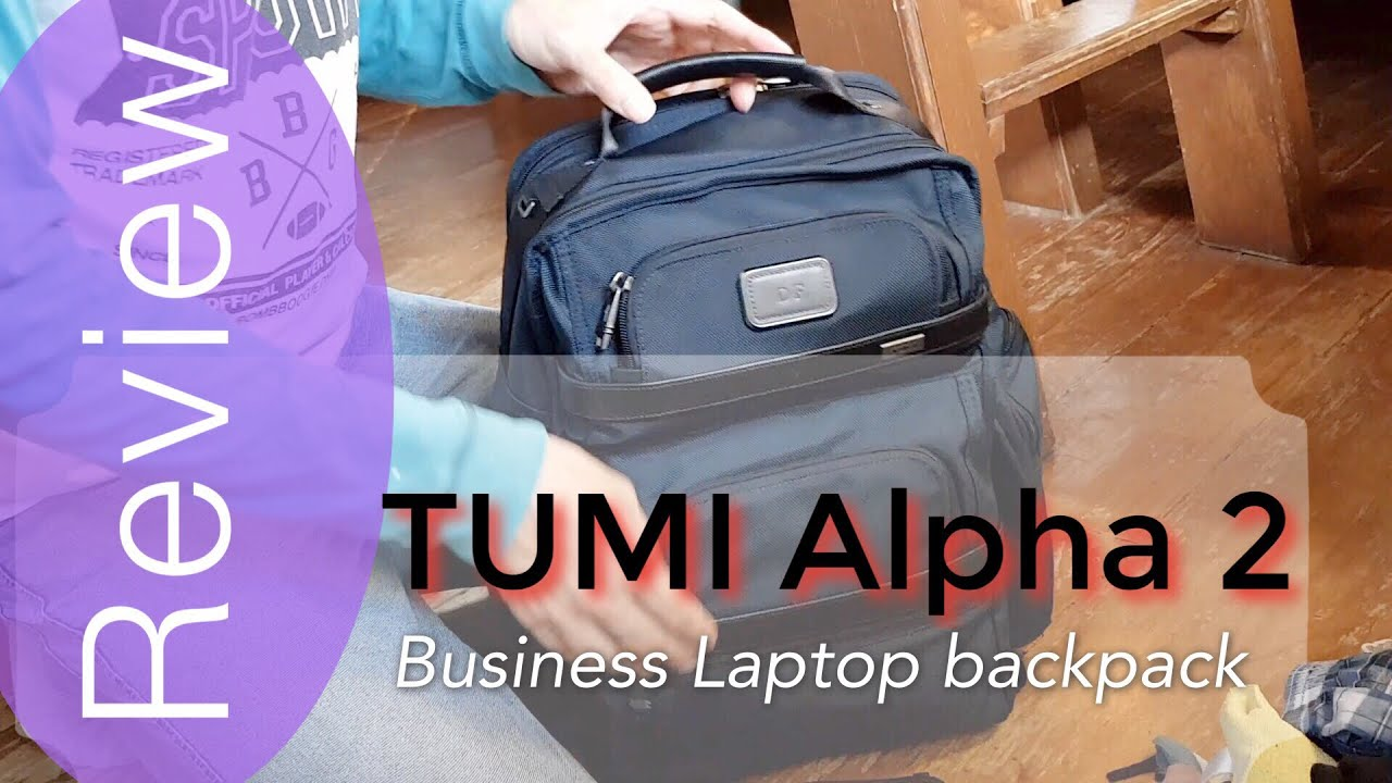 Tumi Alpha 2 T P Business Laptop