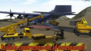 Heavy Machines Transporter Jet Android Gameplay HD