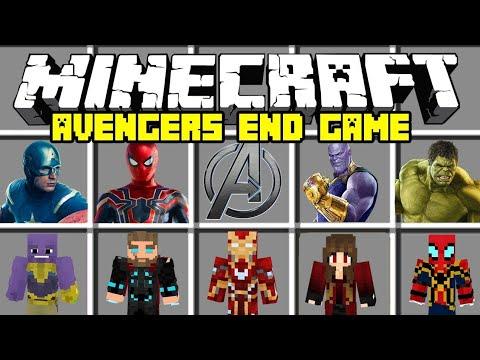 Minecraft PE Avengers Endgame Mod