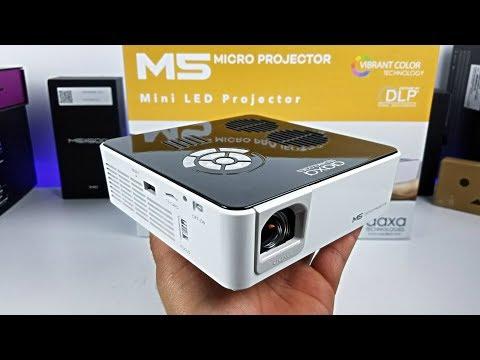 AAXA M5 Micro - World's Brightest Pico Battery Projector!