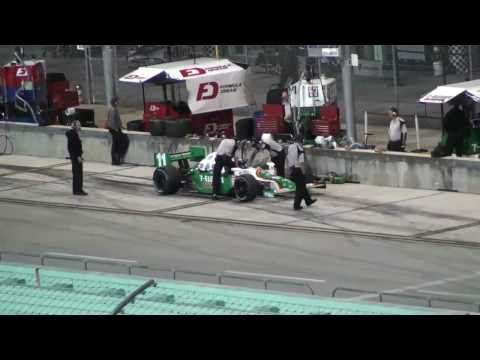 Tony Kanaan IRL Test 2009 Homestaed 1/4