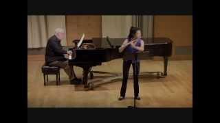 Bach Sonata in E minor, III. Andante - Annie Wu, flute