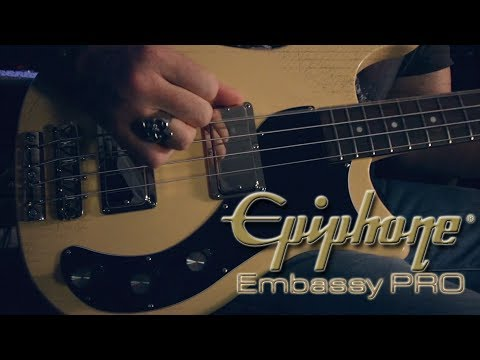 The Epiphone Embassy PRO Bass Review by Chris Catero