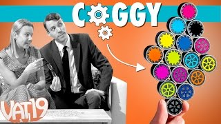 Coggy: The shape-shifting puzzle and brainteaser