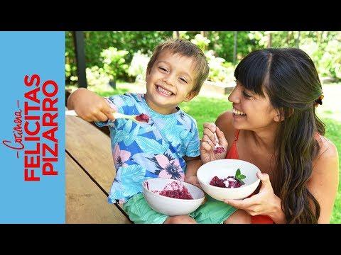 Helado de Frutos Rojos   Felicitas Pizarro