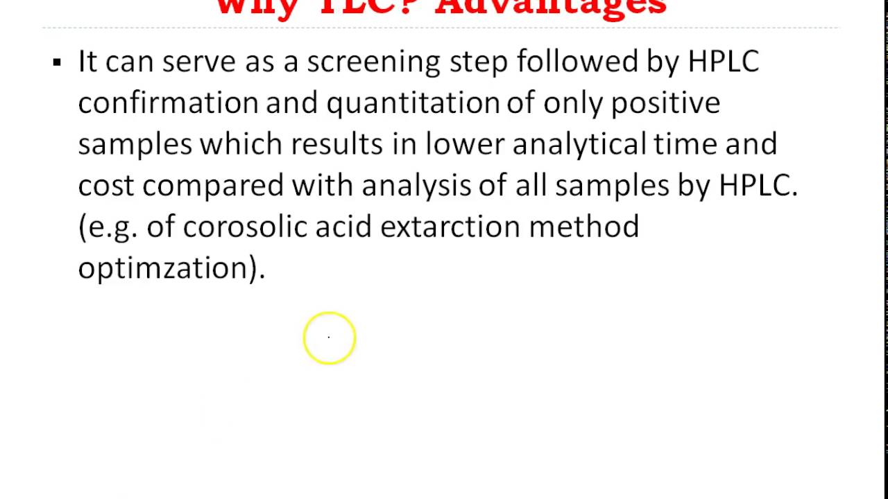 Chromatographic methods of analysis: advantages and disadvantages 20