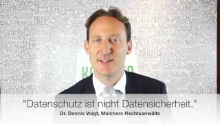 Dr. Dennis Voigt / Melchers Rechtsanwälte auf dem AMC Frühjahrsmeeting