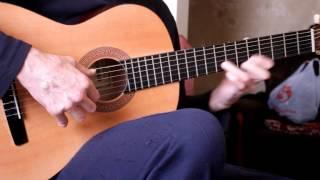 Цыганочка на гитаре.