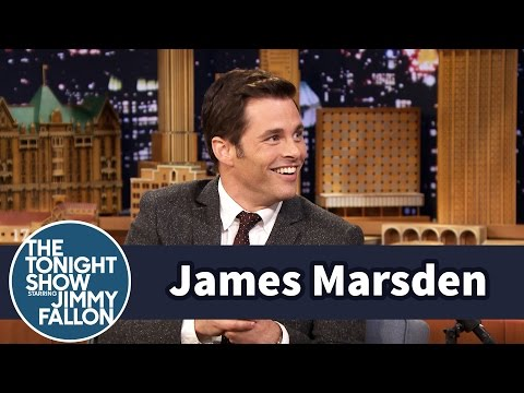 James Marsden's First Celeb Sighting Was Fabio on a Horse