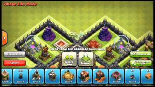 Clash of Clans - Best TH 9 Trophy Base - Speed Build!!!