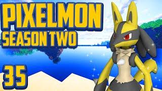 "Minecraft Pixelmon ""Shiny Lucario!"" Gotta Catch 'Em All S2 Ep 35 (Minecraft Pokemon Mod)"