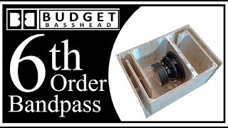 How To Build A 6th Order Bandpass Demo Build Plans Youtube