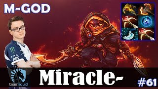 Miracle - Ember Spirit MID | M-GOD | Dota 2 Pro MMR Gameplay #61