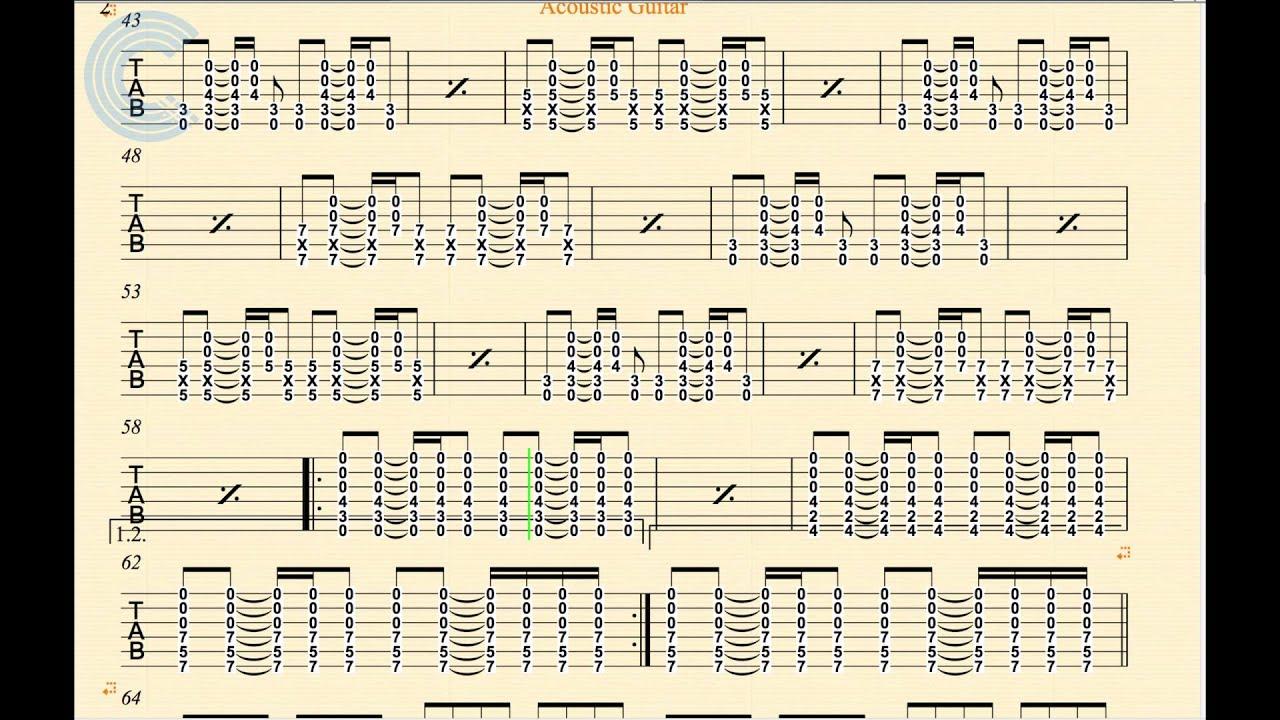Guitar I Will Wait Mumford Sons Sheet Music Chords