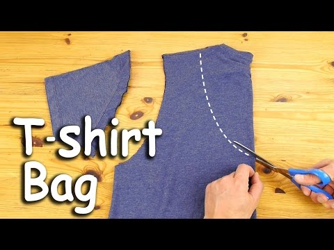 This 2-Step DIY Tote Is The Most Genius Use For Old T-Shirts | HuffPost Life