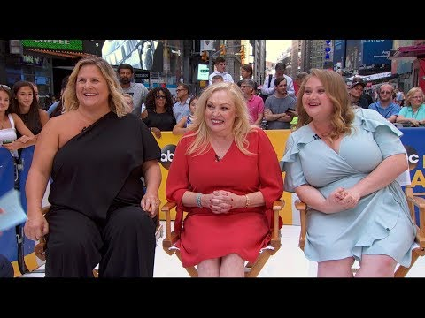 The cast of the hiphop drama 'Patti Cake$' opens up live on 'GMA'