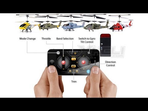 Syma I.Copter Control Helis Using Iphone Or Android Devices