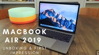 Latest Apple MacBook Air 2019 Unboxing, First Impression and Price in Hindi | India | Apple Laptop.