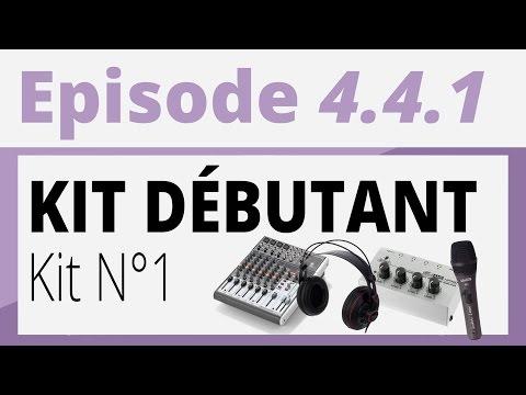 Créer sa radio - Divers 4.4.1 - Quel matériel pour débuter ? Kit 1 : 435€