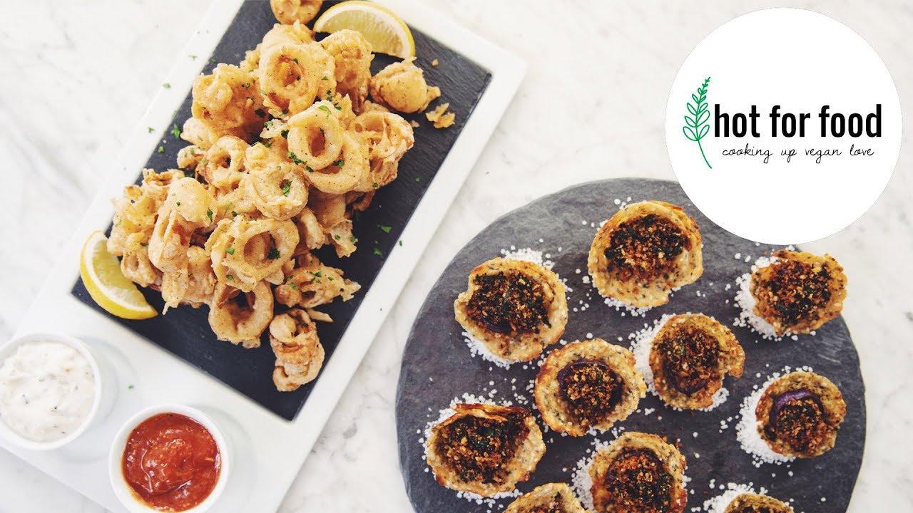 vegan oysters rockefeller | hot for food