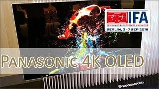 IFA 2016: Panasonic 4K OLED Prototype extra slim