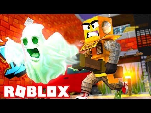 СИМУЛЯТОР ОХОТНИКА ЗА ПРИВЕДЕНИЯМИ! ROBLOX Ghost Buster