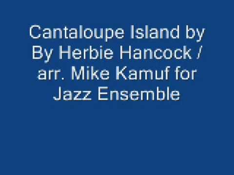 cantaloupe island arranged for jazz ensemble