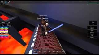 Roblox SWA Anakin Skywalker Vs Obi Wan Kenobi(Behind The Scenes Part 2)