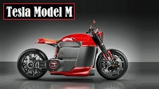 Tesla Model M, fantasy electric-bike concept created by a talented guy named Jans Slapins