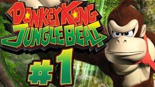 DONKEY KONG JUNGLE BEAT # 01 ★ Bananen- und Orangen-Königreich! [HD / 60fps]